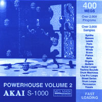 power house 2 akai s-1000 format cdrom